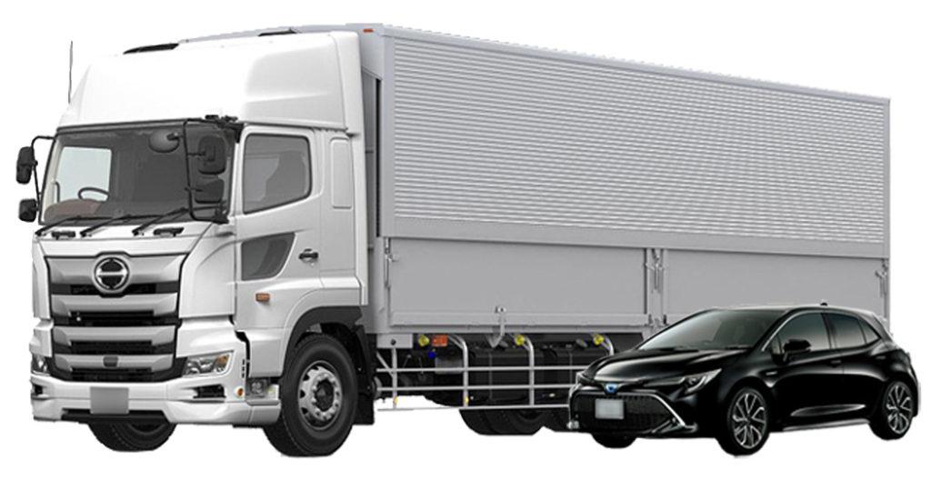 大型トラック運転方法